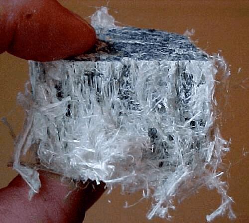 asbest nano deeltjes