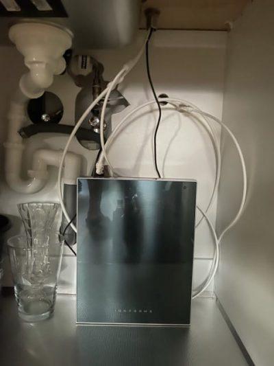 Alpha u1700 water ionisator installatie kast onder het aanrecht
